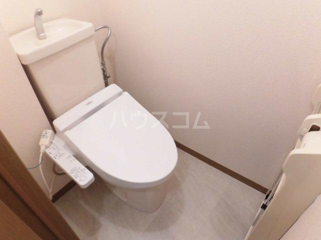 HARMONY HILLS 203号室のトイレ