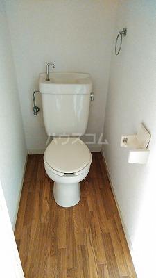 エステートピア星野Ⅱ 102号室のトイレ