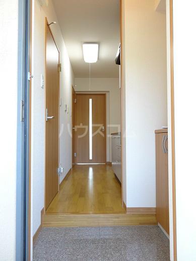 リヴェール 302号室の玄関