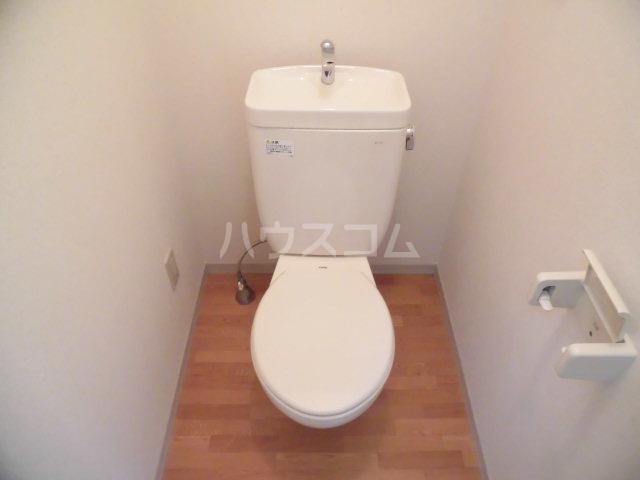 アクシーズ東大宮 203号室のトイレ