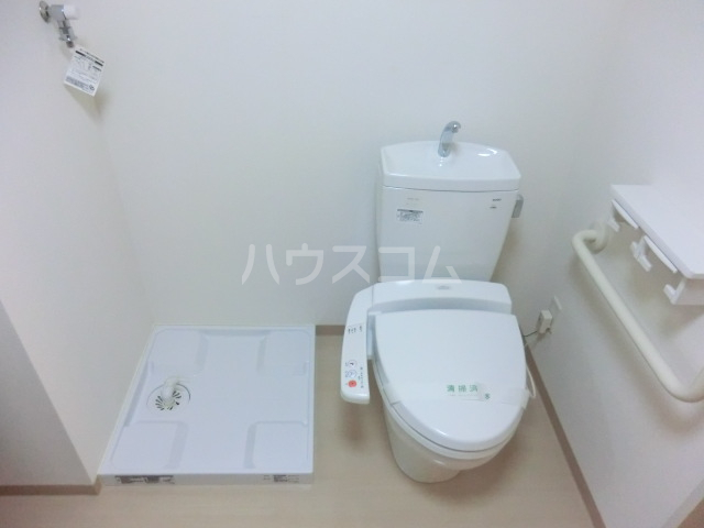 COOPライフハウス未来館 306号室のトイレ
