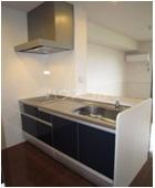 ソレアード B 201号室のキッチン