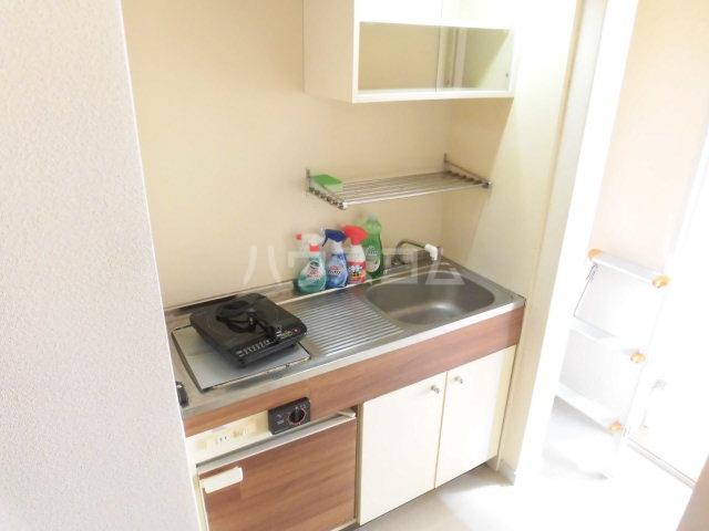 ハイツKIKUCHI 201号室のキッチン