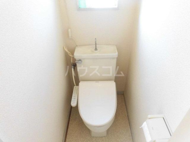 ハイツKIKUCHI 201号室のトイレ