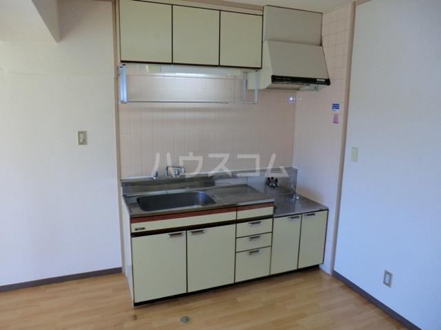 砂サンシャインシティ一番館 506号室のキッチン