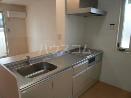 セピアコート 北館 301号室のキッチン