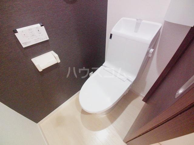 スプリーン 201号室のトイレ
