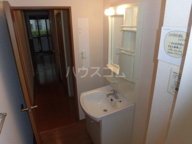カサグランデ E 201号室の洗面所