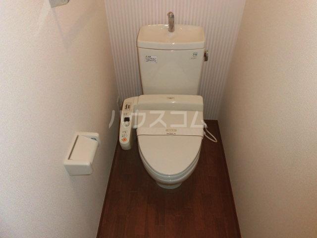 カサグランデ E 201号室のトイレ