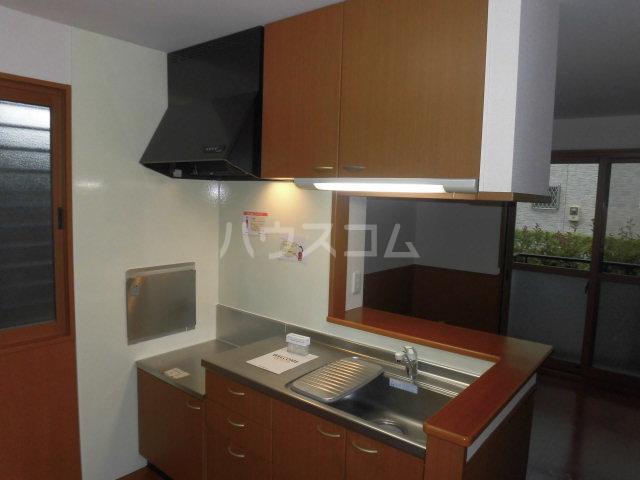 カサグランデ E 201号室のキッチン