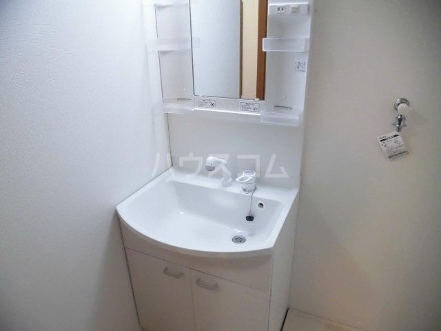 コーポ指扇 101号室の洗面所