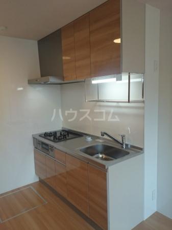 グランデⅠ 102号室のキッチン