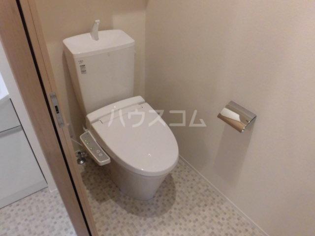 フィカーサ東大宮 102号室のトイレ