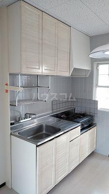 サモアール 103号室のキッチン