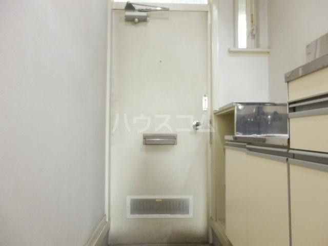 ラビアン7号館 105号室の玄関