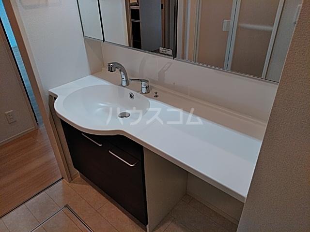 ロイヤルグラン 201号室の洗面所