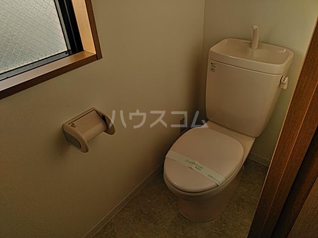 メルヴィ洗足 501号室のトイレ