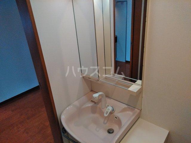 メルヴィ洗足 802号室の洗面所