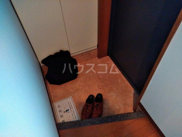 メルヴィ洗足 802号室の玄関