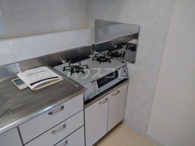 洗足第一マンション 303号室のキッチン