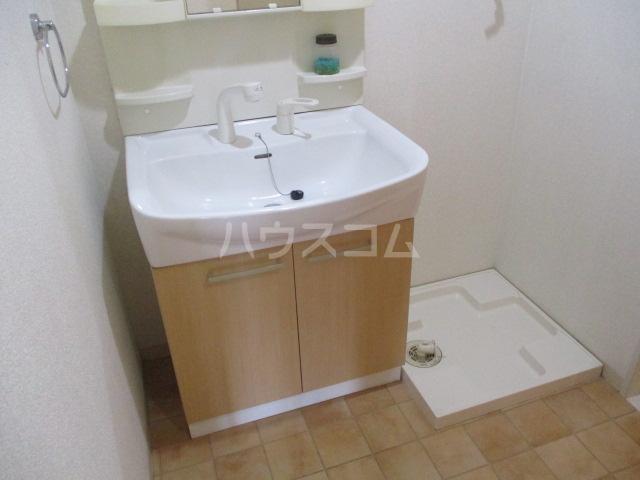 スタースクウェア 203号室の洗面所