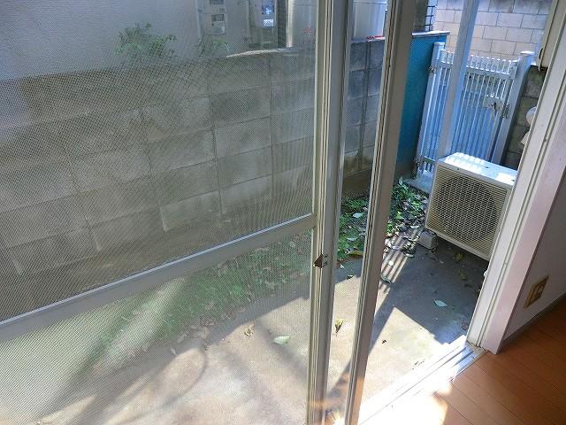 ラヴニール志木4 103号室のバルコニー