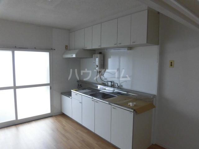 志木宗岡住宅 403号室のキッチン