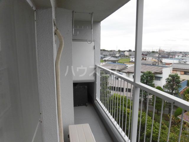 志木宗岡住宅 403号室のバルコニー