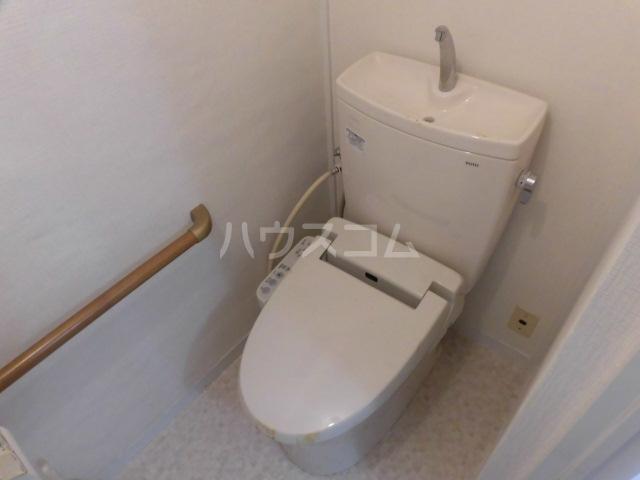 志木宗岡住宅 403号室のトイレ
