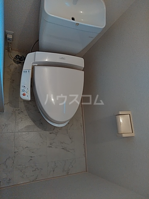 はなみずき C棟 101号室のトイレ
