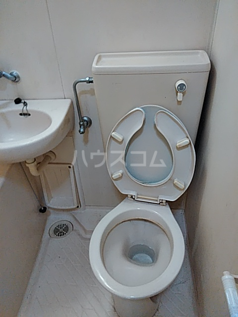 秀華三番館 101号室のトイレ