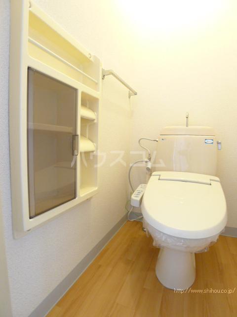 ビューティーナンバーワンA 103号室のトイレ