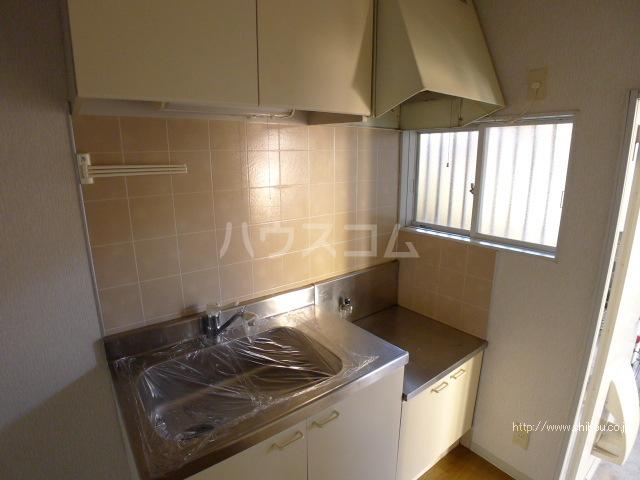 コーポマロニエB棟 202号室のキッチン