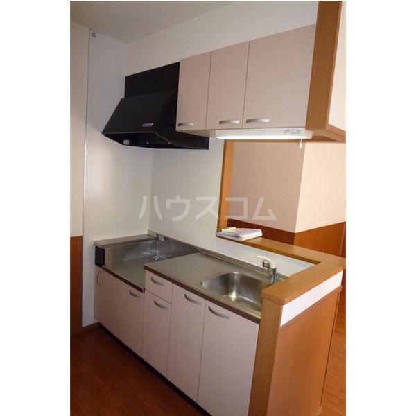 エターナル宝木 D棟 102号室のキッチン