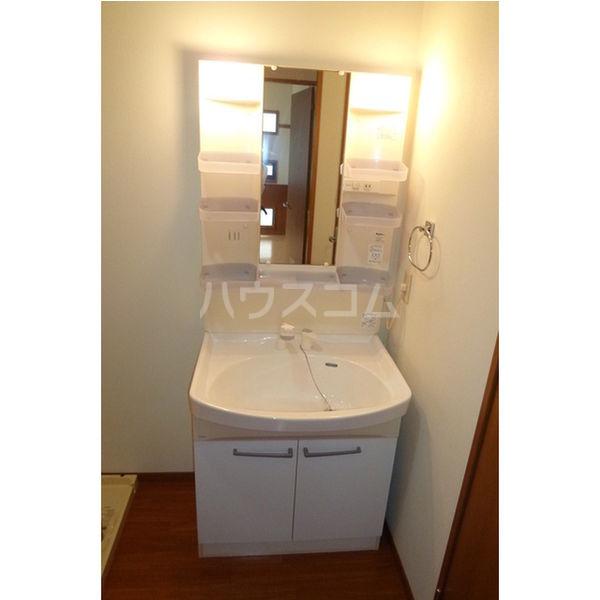 エターナル宝木 D棟 102号室の洗面所