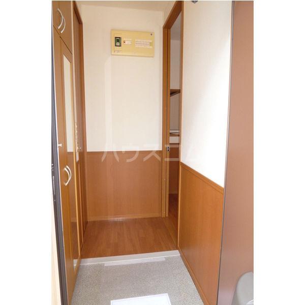 エターナル宝木 D棟 102号室の玄関