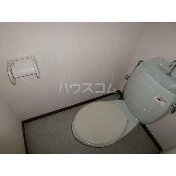 白沢ハイツB 101号室のトイレ