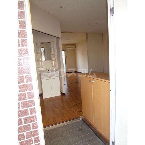 白沢ハイツB 101号室の玄関