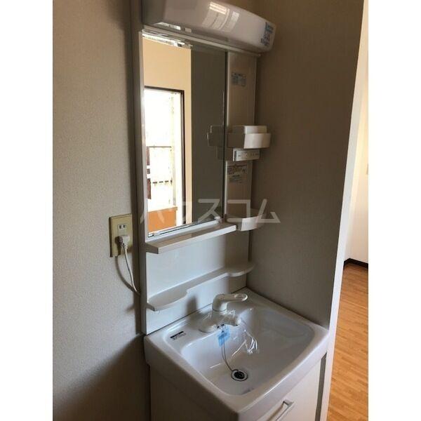 サンシティジュン 201号室の洗面所