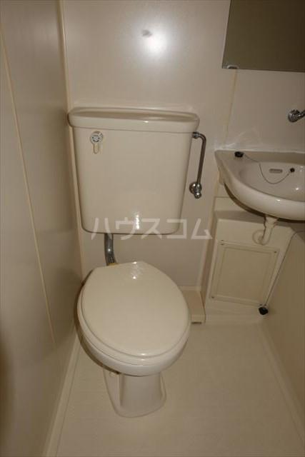 コーポメール 203号室のトイレ