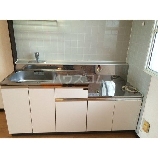 ハイツ仁井田B 102号室のキッチン