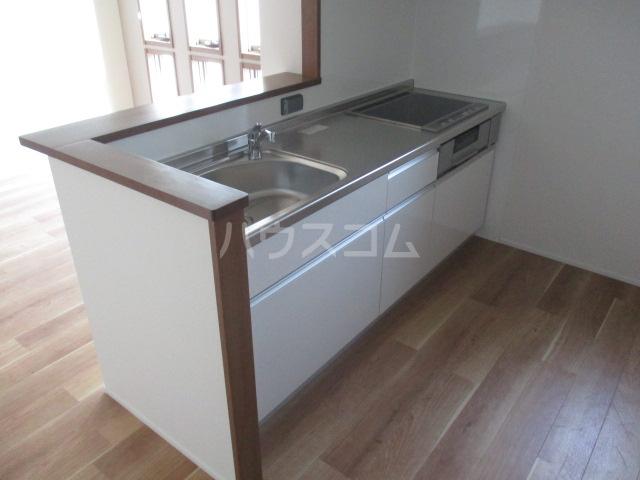 リアンボヌール 202号室のキッチン