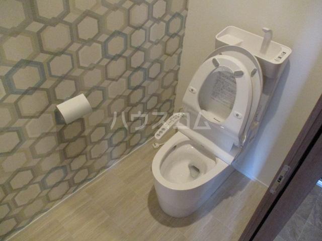 リアンボヌール 302号室のトイレ