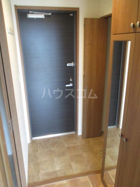 リアンボヌール 302号室の玄関