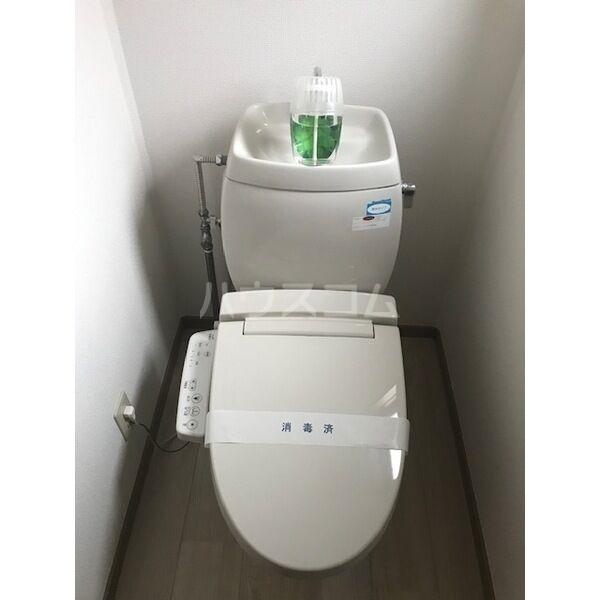プレジールアマガイAのトイレ