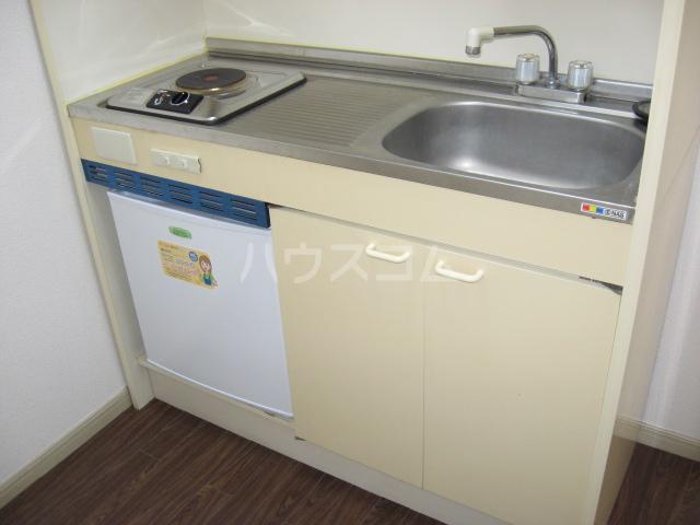 ウイングヴィラ 204号室のキッチン