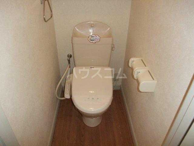 フォレストコムス 203号室のトイレ