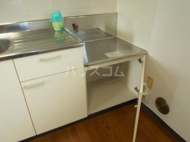 グリーンピュア 202号室のキッチン