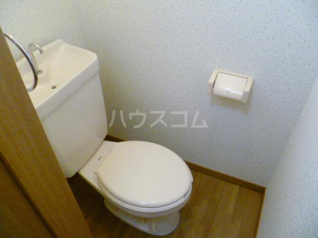 エステートMINABARA 202号室のトイレ