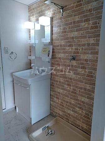 グリーンアベニュー A 101号室の洗面所